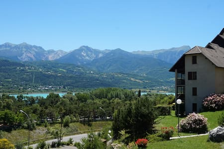 duplex apartment in Embrun Lake Serre Ponçon