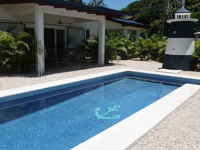Casa Maritima, Pool, 10 min. walk to the beach