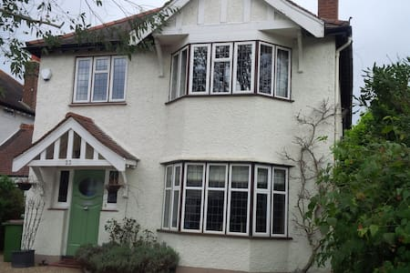 2 Double Rooms, Hampton Court Private family home - East Molesey - Casa