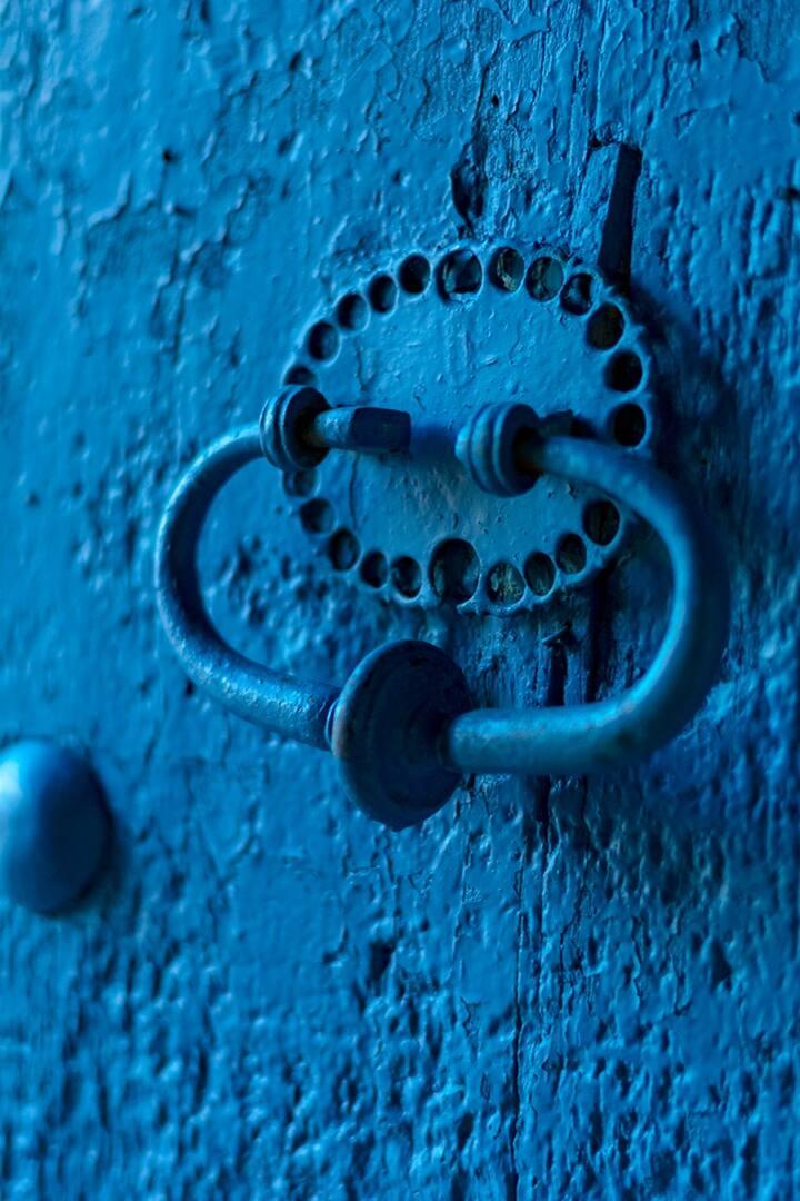 Detail in a door