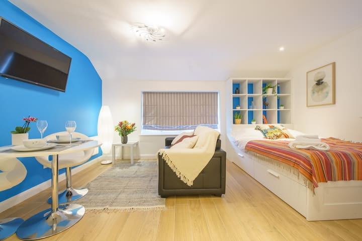 Colourful Private Studio Apartment 16 in Clifton