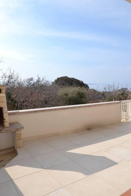 Big sunny terrace
