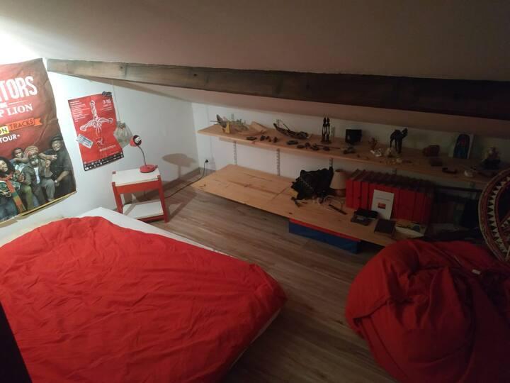 seconde chambre dans maison particulière