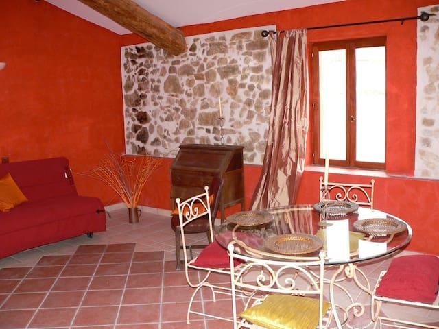 Suite n°4: spacieuse et charmante - Saint-Benoît - Apartamento