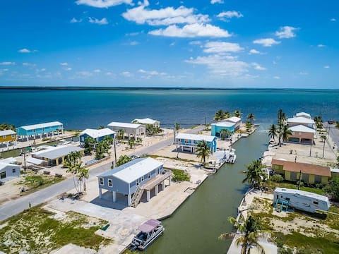Key home with open water access!!