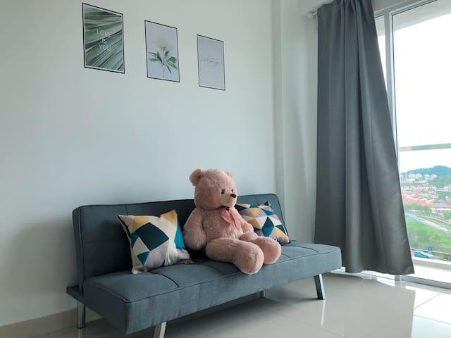 CITY VIEW Resort Cozy House 3R2B WIFI Queensbay