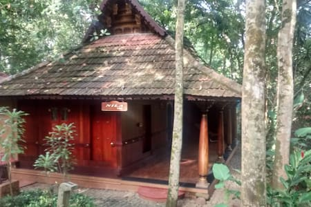 Heritage Cottage facing Waterfalls - Kottayam - Casa