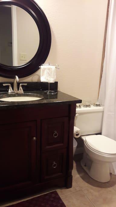 Private Bathroom Vanity