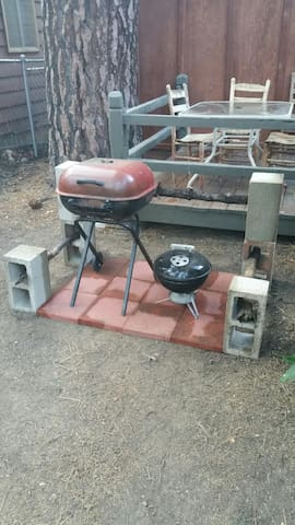 2 bbq's to choose from