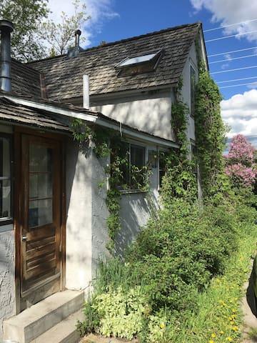 1890s Rustic Bozeman Home in trendy Northeast