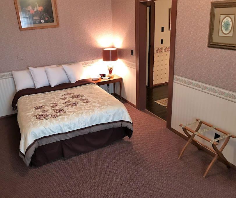 Catawba Suite $135 per night +tax
