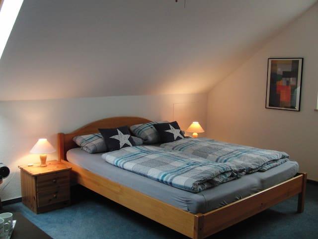 Wohn-Schlafzimmer am Stadtrand - Dülmen - Dům