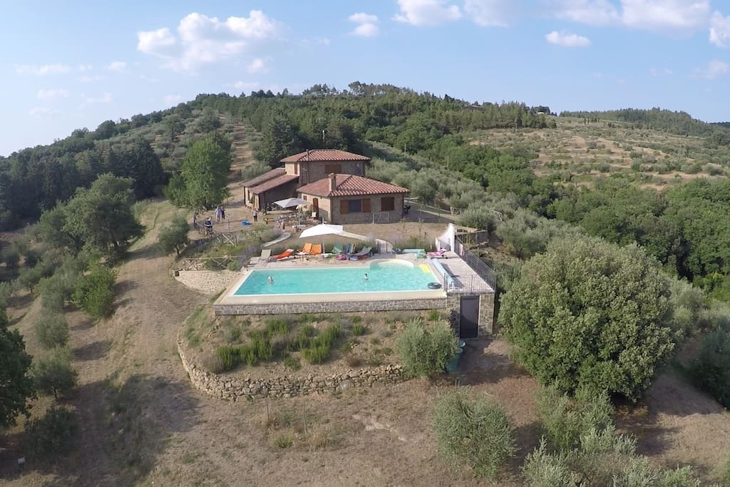 Drone photograph of Poparello. Summer 2015