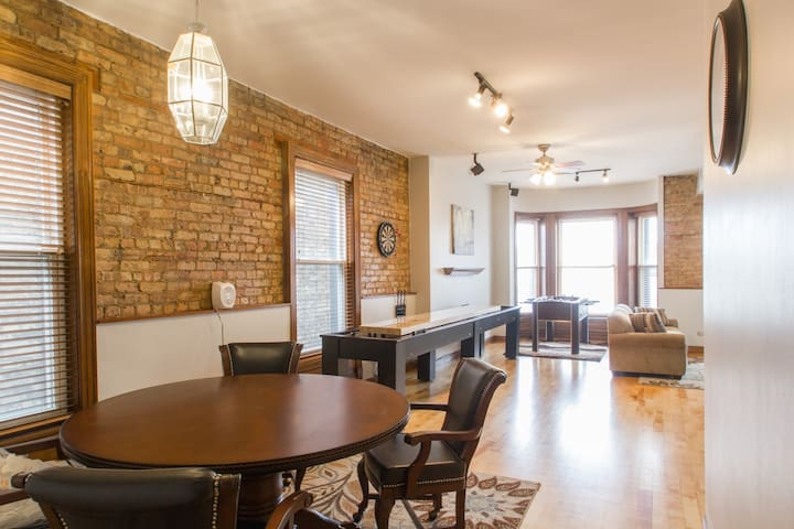 3 BR unit next to Wrigley Field