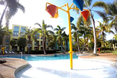 AQUATIKA 1st Floor+WiFi+Cable+Lazy River View