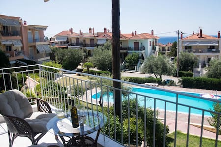 Apartment in Gerakini , 50 meters far from beach