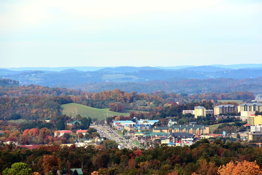 Fantastic Views of downtown Pigeon Forge!