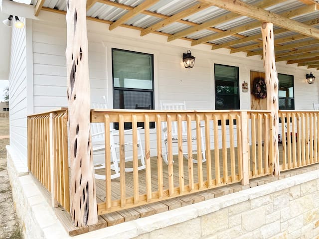 Prairie Rose Ranch- The Blue Bonnet (2BD/2BA)
