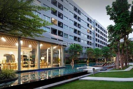 Gfeel chic studio E36 near BTS free Wi-Fi Pool GYM - Bangkok - Wohnung