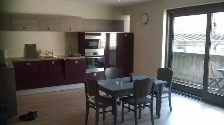 Appartement cosy pour 4 pers au centre de Namur.