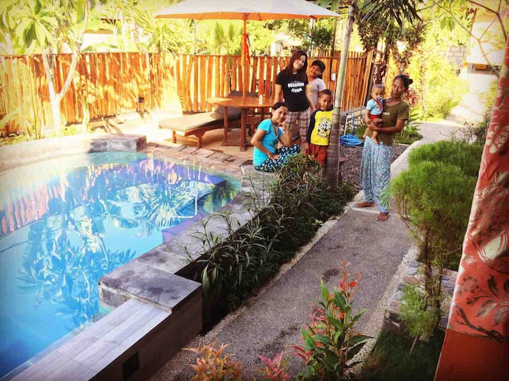 Woodend, NusaPenida House with Pool&free Breakfast