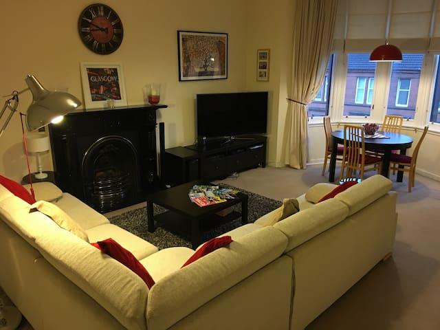 Luxury West End top floor flat