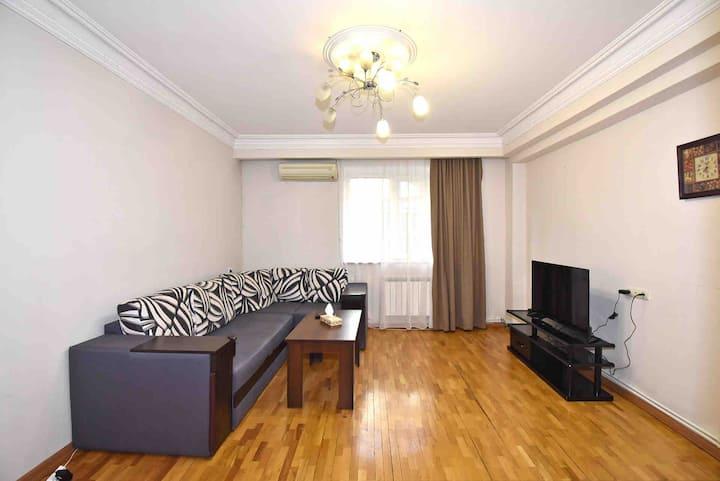 Nice apartment on Amiryan street