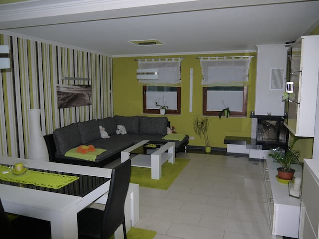 Ferienhaus Thurbruchblick auf Usedom - Katschow - Hus