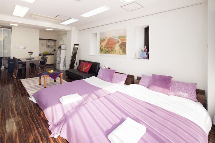 5min walk Meiji Jingu. Close to Shinjuku +wifi#7T6 - Shibuya-ku - Apartment