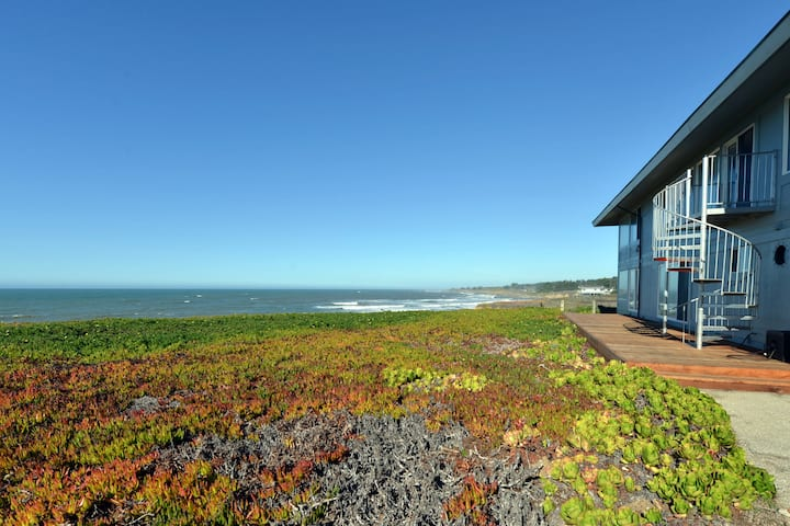 Oceanfront Views - Steps to the Beach