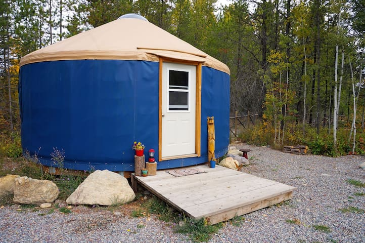 Mooseshroom Yurt