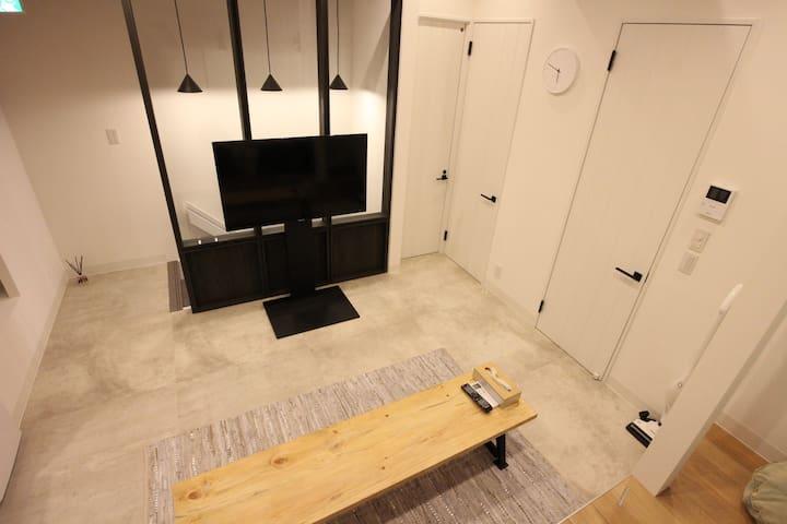 NEW! 4-min USJ★ 2 double beds&WI-FI - Konohana-ku, Ōsaka-shi - House