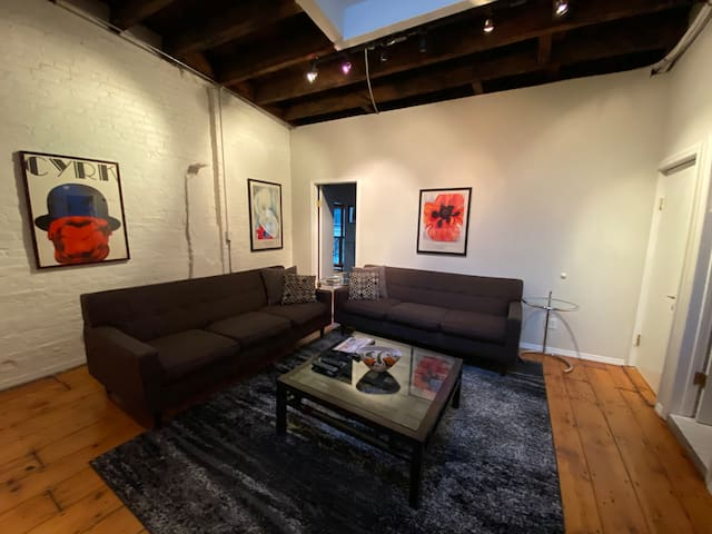 Lovely 3 Bedroom, 2 Bath Flatiron Area Loft