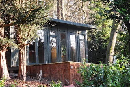 Bright, spacious cabin with sun deck. Great view. - Hindhead - Apartment