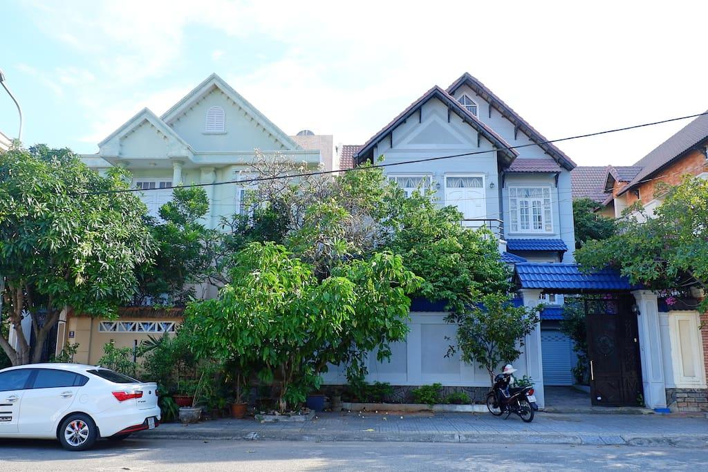 Frontside of Vũng Tàu Ali Villa 4