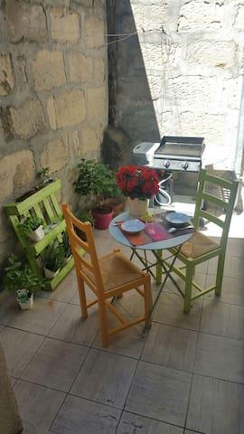 Chambre cosy dans duplex de charme, coeur de ville - Brive-la-Gaillarde - Apartment