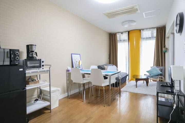 Namba 2BR 9pax CENTRAL near station