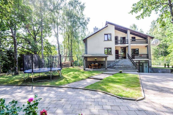 Holiday house near Druskininkai resort