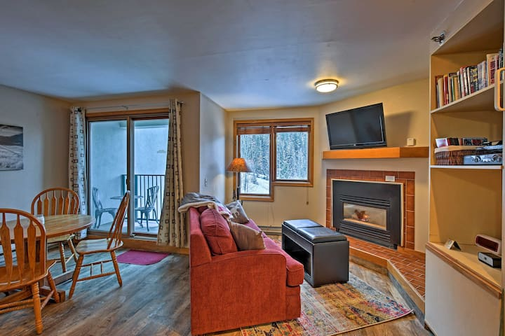 Ski-In/Ski-Out Winter Park Studio w/Hot Tub Access