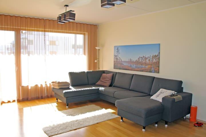 Bright & Cozy Küti aprt with sauna (4 rooms;92 m²)