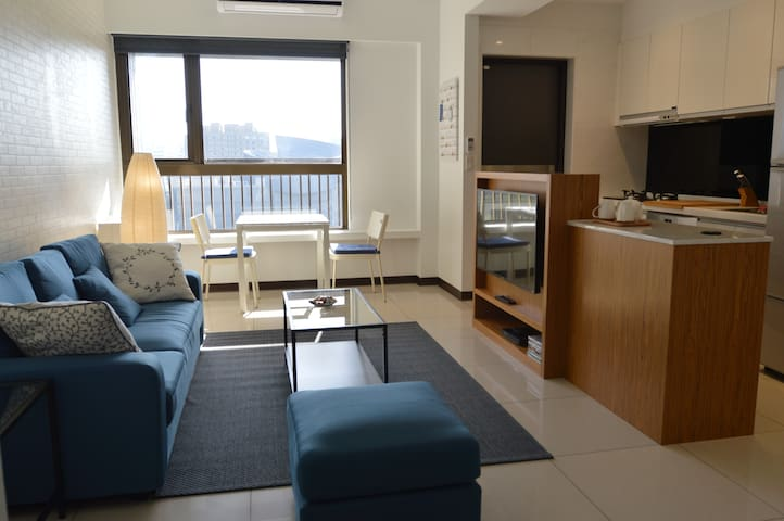 25min to airport- Art Center Private Apartment - Taoyuan District - Wohnung