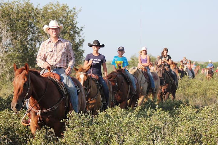 Relax and Ride at Grace Ranch