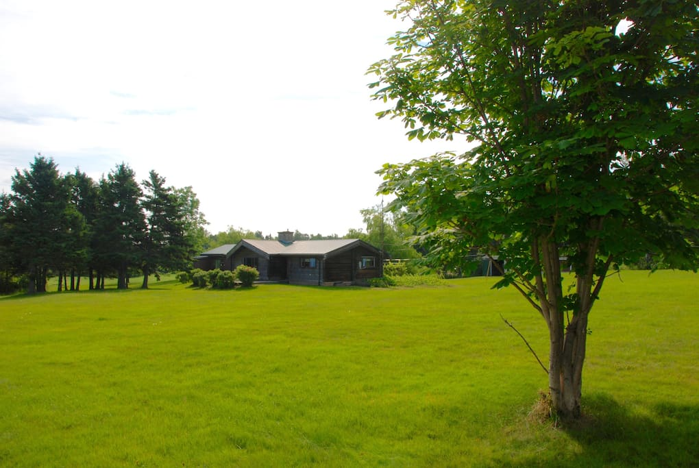 Outdoor view of the property
