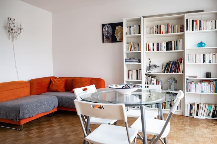 Appartement calme et lumineux à 15 min du centre