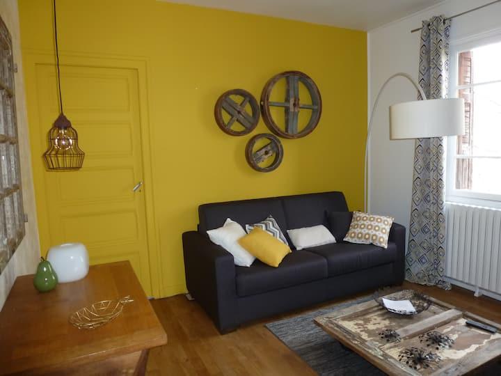 Appartement de charme proche du Lac de Vouglans