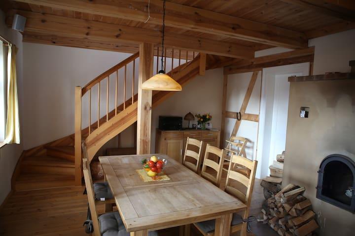 Große Wohnung Ferienlandhaus Zempow - Wittstock/Dosse - Appartement