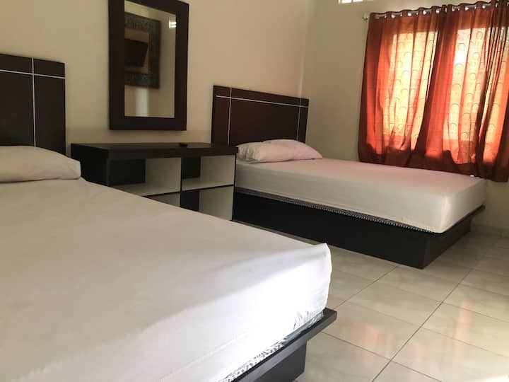 Catra Hotel Family Room 2 bed Queen Size