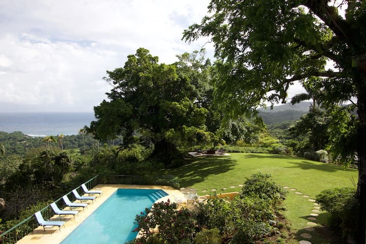 Norse Hill Estate, Port Antonio, 4-6 BR/BA, staff - Port Antonio - Villa