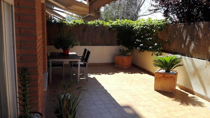Piso exterior con terraza En Sant Cugat Del Vallès