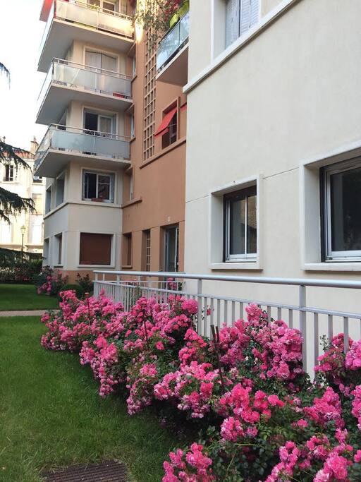 Residence accueillante- Nice Flat area
